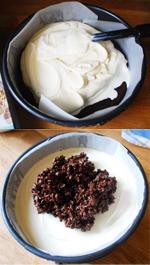 Snick-a-tella Ice Cream Cake