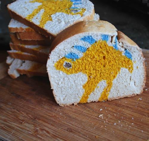 Dinosaur Bread