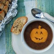 Halloween Black Bean Soup