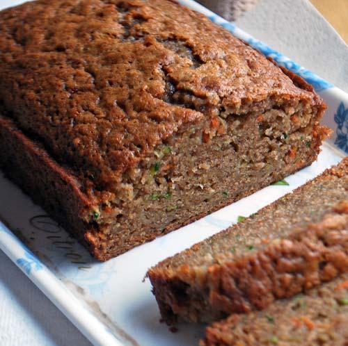 Garden Harvest Cake Bread
