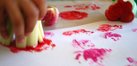 Celery Rose Stamping