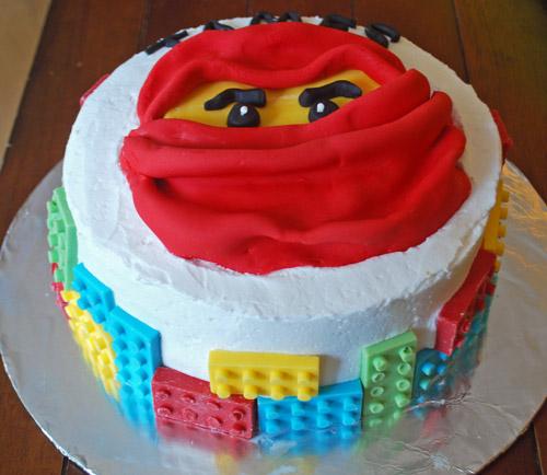 Kai Lego Ninjago Brick Cake